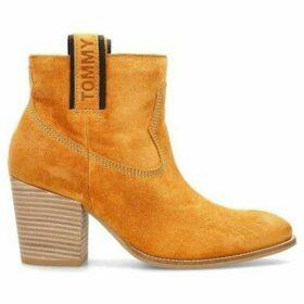 Tommy Hilfiger  EN0EN00666ZBC  women's Low Ankle Boots in Beige