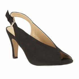 Lotus Shoes Akiko Peep-Toe Slingback Shoes