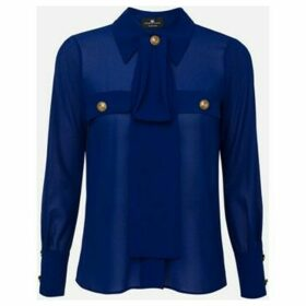 Elisabetta Franchi  CA27101E2  women's Shirt in Blue