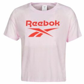 Reebok Classic  WOR SUP BL Tee  women's T shirt in Pink