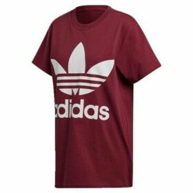 adidas  Trefoil Tee  women's T shirt in multicolour