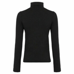French Connection  Flying collar collar  women's Sweatshirt in Black