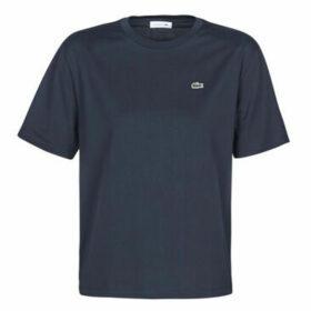 Lacoste  -  women's T shirt in Blue