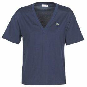 Lacoste  BONFICACE  women's T shirt in Blue