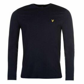 Lyle and Scott Long Sleeve Logo Tee