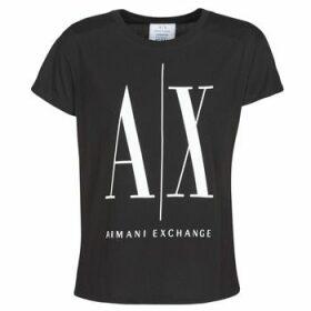 Armani Exchange  HELIEK  women's T shirt in Black
