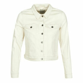 Vero Moda  VMHOT SOYA  women's Denim jacket in Beige