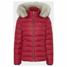 Tommy Jeans  DW0DW06774 ESSENTIAL HOOD  women's Jacket in Red