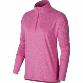 Nike  Top HZ  women's Fleece jacket in Pink