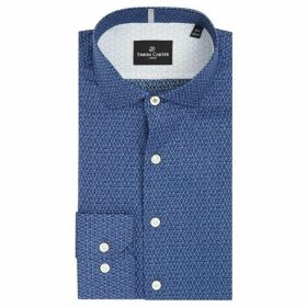 Simon Carter Quilt Triangle Print Shirt