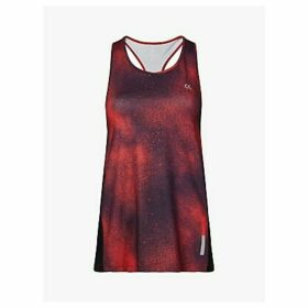 Calvin Klein Performance Galaxy Print Tank Top, Red