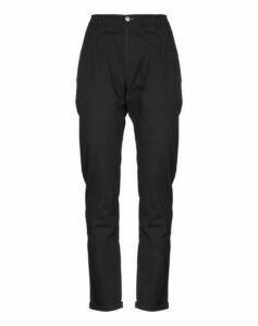 GREY DANIELE ALESSANDRINI TROUSERS Casual trousers Women on YOOX.COM