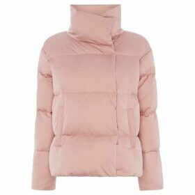 Max Mara Weekend High neck quilted jacket