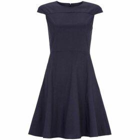 Carolina Cavour Shoulder Sleeve Kneelength Dress