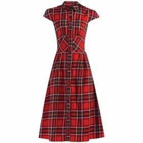 Jolie Moi Retro Print 1940S Shirt Dress