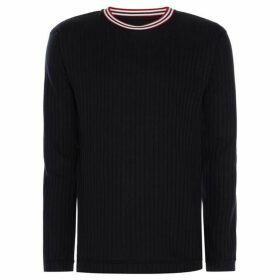 Libertine Libertine Textured Knit Crew Neck Jumper