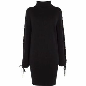 Karen Millen Balloon Sleeve Jumper Dress