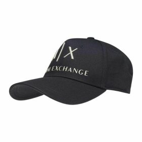 Armani Exchange Corp Logo Baseball Cap
