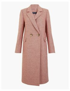 M&S Collection Wool Blend Longline City Coat