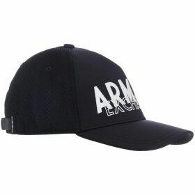 Armani Front Logo Baseball Hat