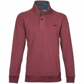 Raging Bull Big & Tall Button-Up Jersey Sweater