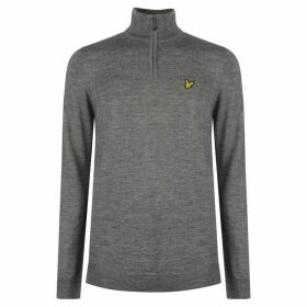 Lyle and Scott Half Zip Pullover Mens