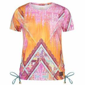 USA Pro by Matthew Williamson Lace Up T Shirt