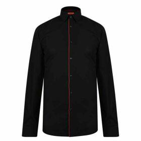 HUGO Slim Fit Shirt - Black