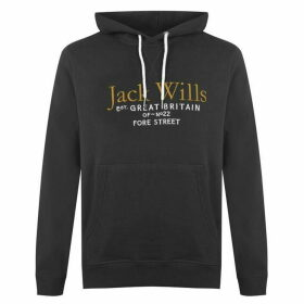 Jack Wills Batsford Wills Hoodie - Dark Green
