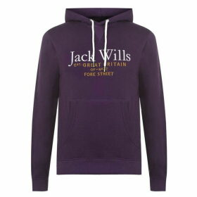 Jack Wills Batsford Wills Hoodie - Amethyst