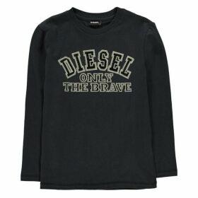 Diesel Tippi Long Sleeve T Shirt - Navy 81E