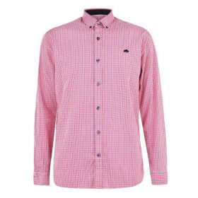 Raging Bull Raging Long Sleeve Macro Shirt - Vivid Pink