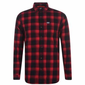 Superdry Work Shirt - Red Check 33J
