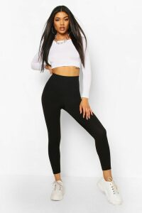 Womens Scuba Cinching Control Leggings - black - 8, Black