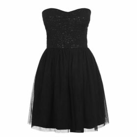 Jack Wills Ladysmith Strapless Dress - Black