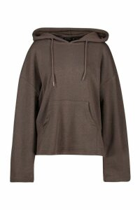 Womens Mix & Match Edition Step Hem Hoodie - black - M, Black
