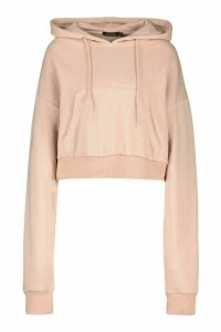 Womens Mix And Match Edition Oversized Hoodie - Beige - Xl, Beige