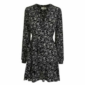 Saint Laurent Bandana Print Dress
