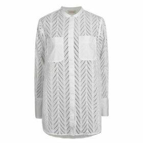 By Malene Birger Moa Oversize Dipped Hem Shirt