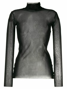 Jean Paul Gaultier Pre-Owned 1990s sheer top - Black