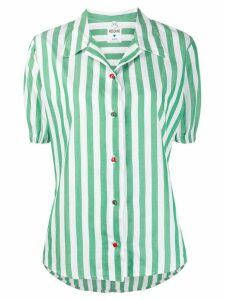 Moschino Pre-Owned 1990s striped shirt - Green