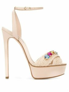 Casadei high-heeled stiletto sandals - PINK