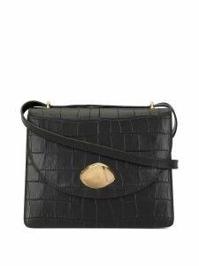 Little Liffner croc embossed crossbody bag - Black