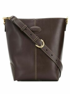 Tod's small leather shoulder bag - Brown