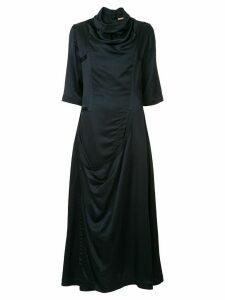 Nehera Detva draped dress - Blue