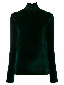 Haider Ackermann velvet sweater - Green
