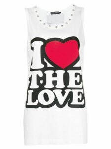 Dolce & Gabbana I Love The Love tank top - White