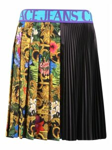 Versace Jeans Couture Printed Skirt