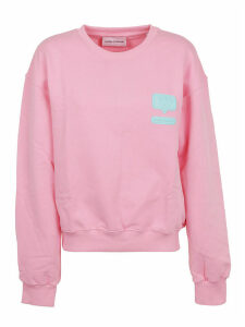 Chiara Ferragni Silicon Patch Sweatshirt
