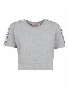 Chiara Ferragni Tape Id Crop Tshirt